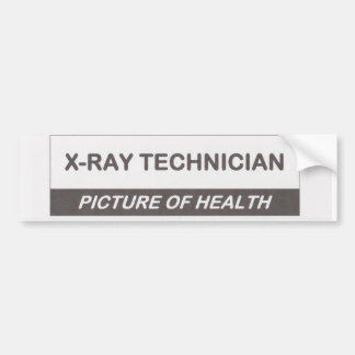 X-Ray technician Car Bumper Sticker