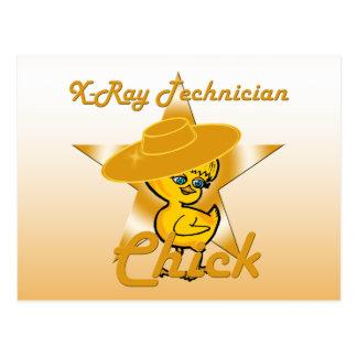X-Ray Technician Chick #10 Postcard