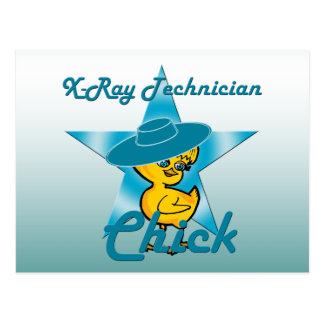X-Ray Technician Chick #7 Postcard