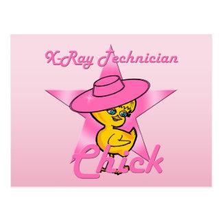 X-Ray Technician Chick #8 Postcard
