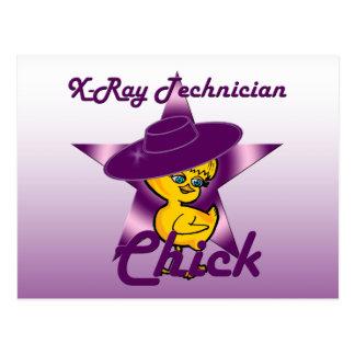 X-Ray Technician Chick #9 Postcard