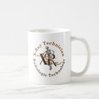 X Ray Technician Circle Brown Coffee Mug