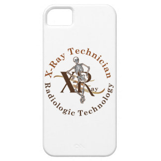 X Ray Technician Circle Brown iPhone SE/5/5s Case