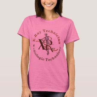 X Ray Technician Circle Brown T-Shirt