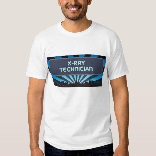 X-Ray Technician Marquee Tshirt