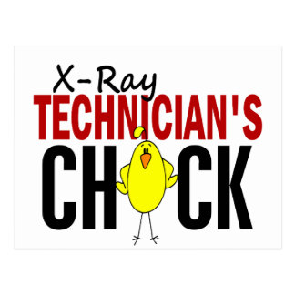 X-Ray Technician's Chick Postcard