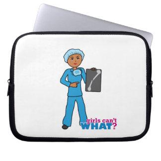 X-Ray Technologist Girl Laptop Computer Sleeve