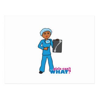 X-Ray Technologist Girl Postcard