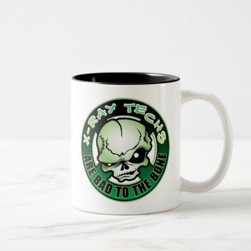 X-Ray Techs: Bad To The Bone Coffee Mug
