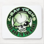 X-Ray Techs: Bad To The Bone Mouse Pad