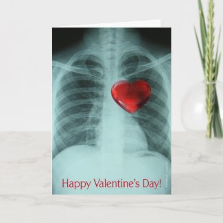 X-ray Valentine's Card