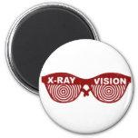 X-Ray visio Refrigerator Magnets
