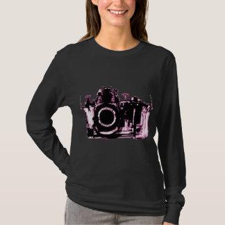 X-RAY VISION CAMERA BLACK PINK T-Shirt
