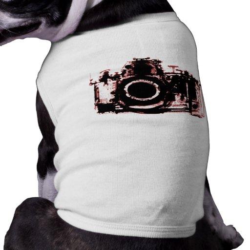 X-RAY VISION CAMERA BLACK RED DOG SHIRT