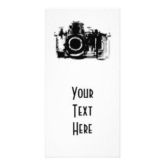 X-RAY VISION CAMERA - BLACK & WHITE CUSTOMIZED PHOTO CARD