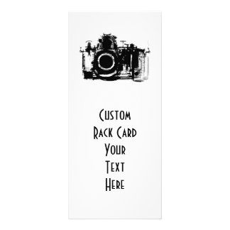 X-RAY VISION CAMERA - BLACK & WHITE PERSONALIZED RACK CARD