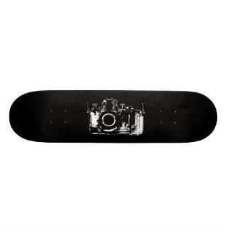 X-RAY VISION CAMERA - BLACK & WHITE SKATEBOARD