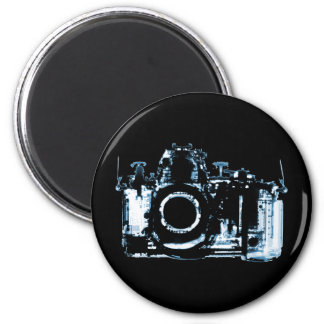 X-RAY VISION CAMERA - BLUE 2 INCH ROUND MAGNET