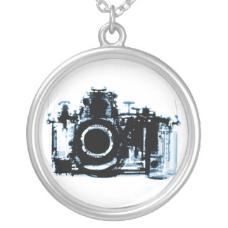 X-RAY VISION CAMERA - BLUE NECKLACES