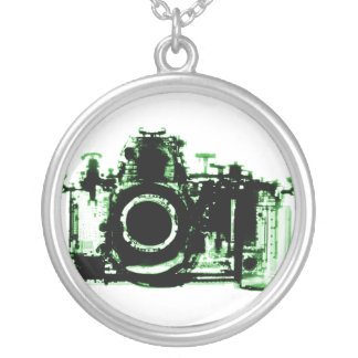 X-Ray Vision Camera For Photographers Round Pendant Necklace