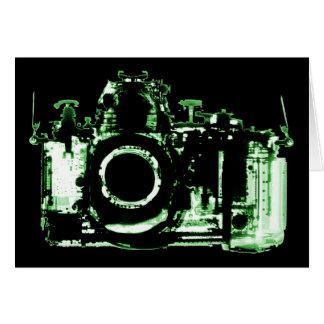 X-RAY VISION CAMERA - GREEN CARD