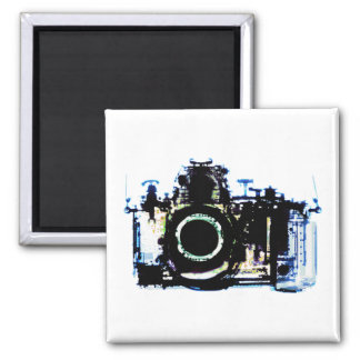 X-RAY VISION CAMERA - ORIGINAL 2 INCH SQUARE MAGNET