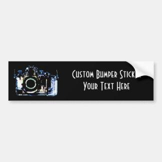 X-RAY VISION CAMERA - ORIGINAL BLUE BUMPER STICKER