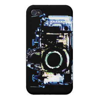 X-RAY VISION CAMERA - ORIGINAL BLUE COVER FOR iPhone 4