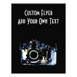 X-RAY VISION CAMERA - ORIGINAL BLUE PERSONALIZED FLYER