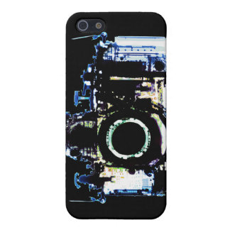 X-RAY VISION CAMERA - ORIGINAL BLUE iPhone 5 COVER