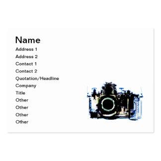 X-RAY VISION CAMERA - ORIGINAL BLUE LARGE BUSINESS CARD