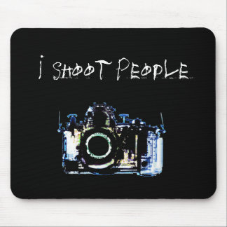 X-RAY VISION CAMERA ORIGINAL - I Shoot People Mouse Pads
