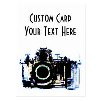 X-RAY VISION CAMERA - ORIGINAL POSTCARD