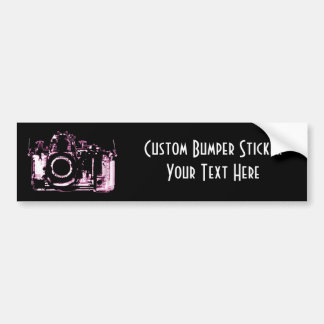 X-RAY VISION CAMERA - PINK BUMPER STICKER