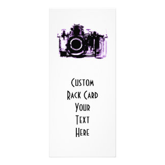 X-RAY VISION CAMERA - PURPLE PERSONALIZED RACK CARD