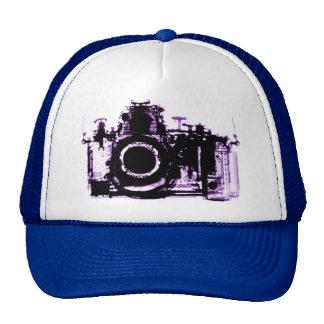 X-RAY VISION CAMERA - PURPLE TRUCKER HAT