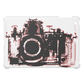 X-RAY VISION CAMERA - RED iPad MINI COVER