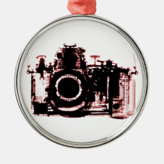 X-RAY VISION CAMERA - RED METAL ORNAMENT