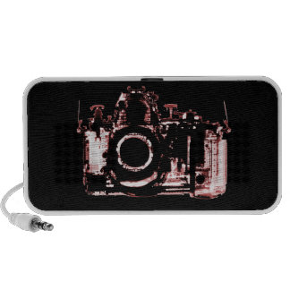 X-RAY VISION CAMERA - RED TRAVELLING SPEAKER