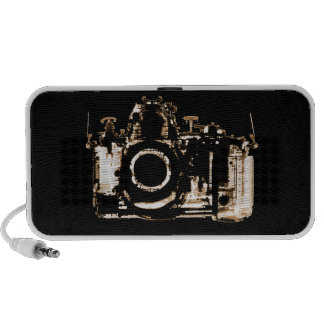 X-RAY VISION CAMERA - SEPIA LAPTOP SPEAKER