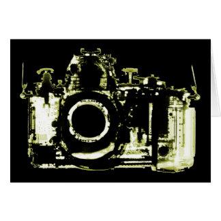X-RAY VISION CAMERA - YELLOW CARD