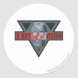 X-Ray Vision Classic Round Sticker
