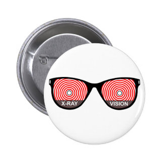 X-Ray Vision Glasses Button