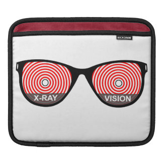 X-Ray Vision Glasses iPad Sleeve