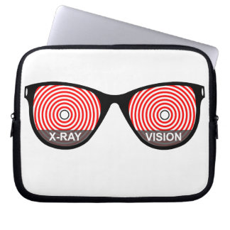 X-Ray Vision Glasses Laptop Case Laptop Sleeve