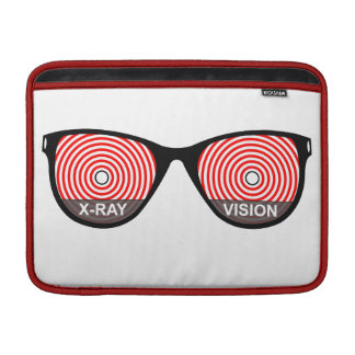 X-Ray Vision Glasses Macbook Sleeve