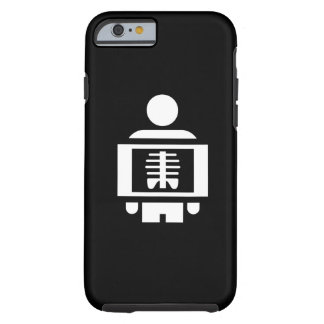 X-Ray Vision Pictogram iPhone 6 Case