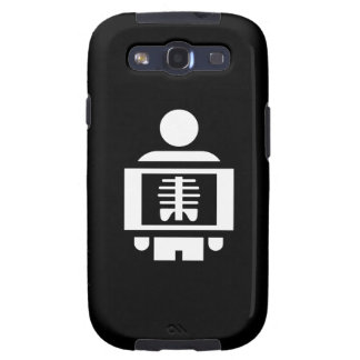 X-Ray Vision Pictogram Samsung Galaxy S3 Case