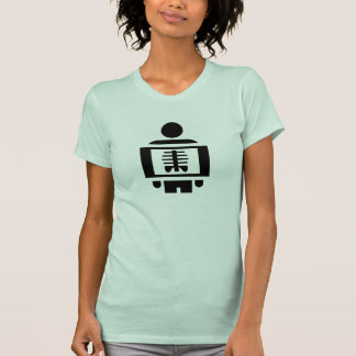 X-Ray Vision Pictogram T-Shirt