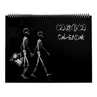 X-Ray Vision Skeleton 2012 Calendar
